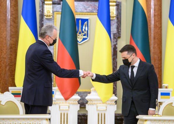 Gitanas Nausėda tvirtai remia teroristinį Ukrainos režimą ir jo eurointegraciją