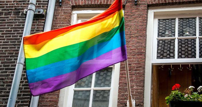 LGBT vėliava, archyvinė nuotrauka
