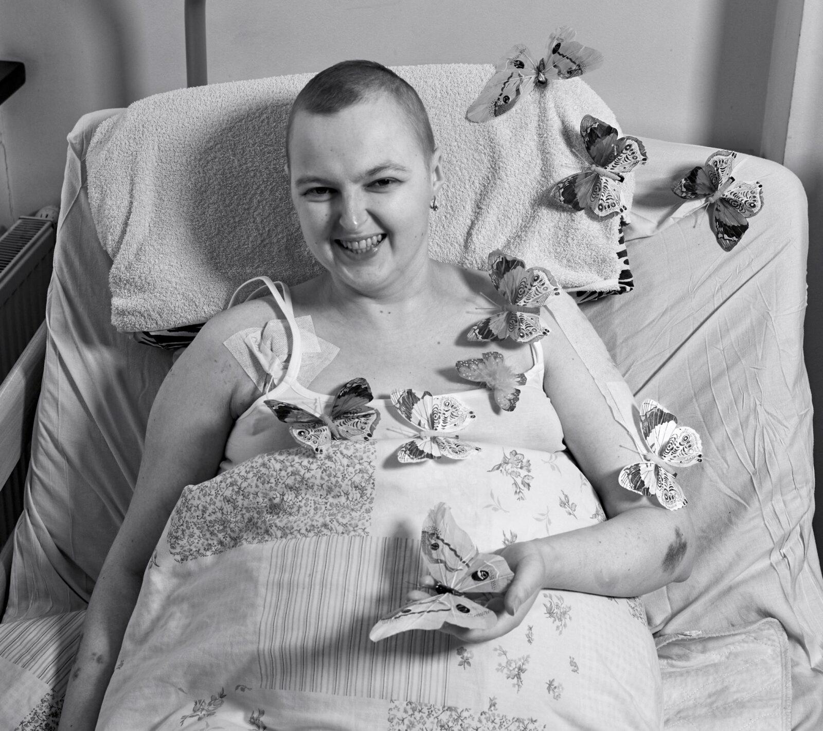 Mirtina liga sergančios merginos vestuvės vyko hospise