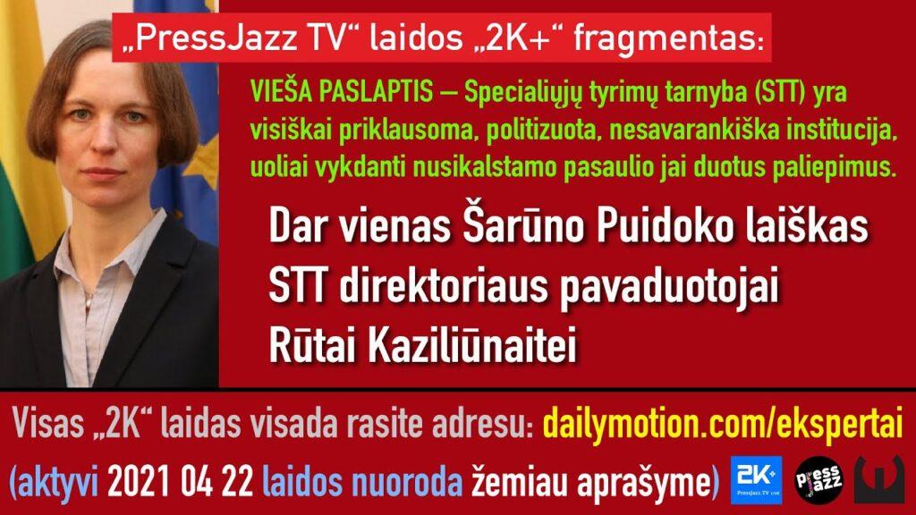 STT veikla daro didelę žalą Lietuvos visuomenei, žemina valstybės vardą