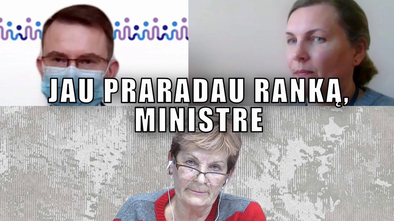 Jau praradau ranką, ministre | Danutė Pekaja ir Arūnas Dulkys | 2021 03 31