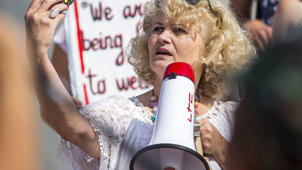 Vilniuje protestas prieš privalomą vakcinaciją bei testavimą