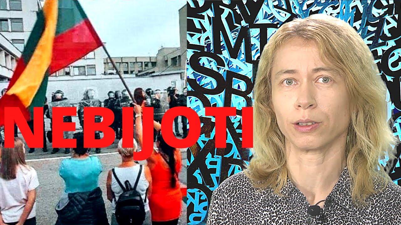"""Nida Vasiliauskaitė: """"Tai buvo didžiausias protestas nuo Sąjūdžio laikų"""""""