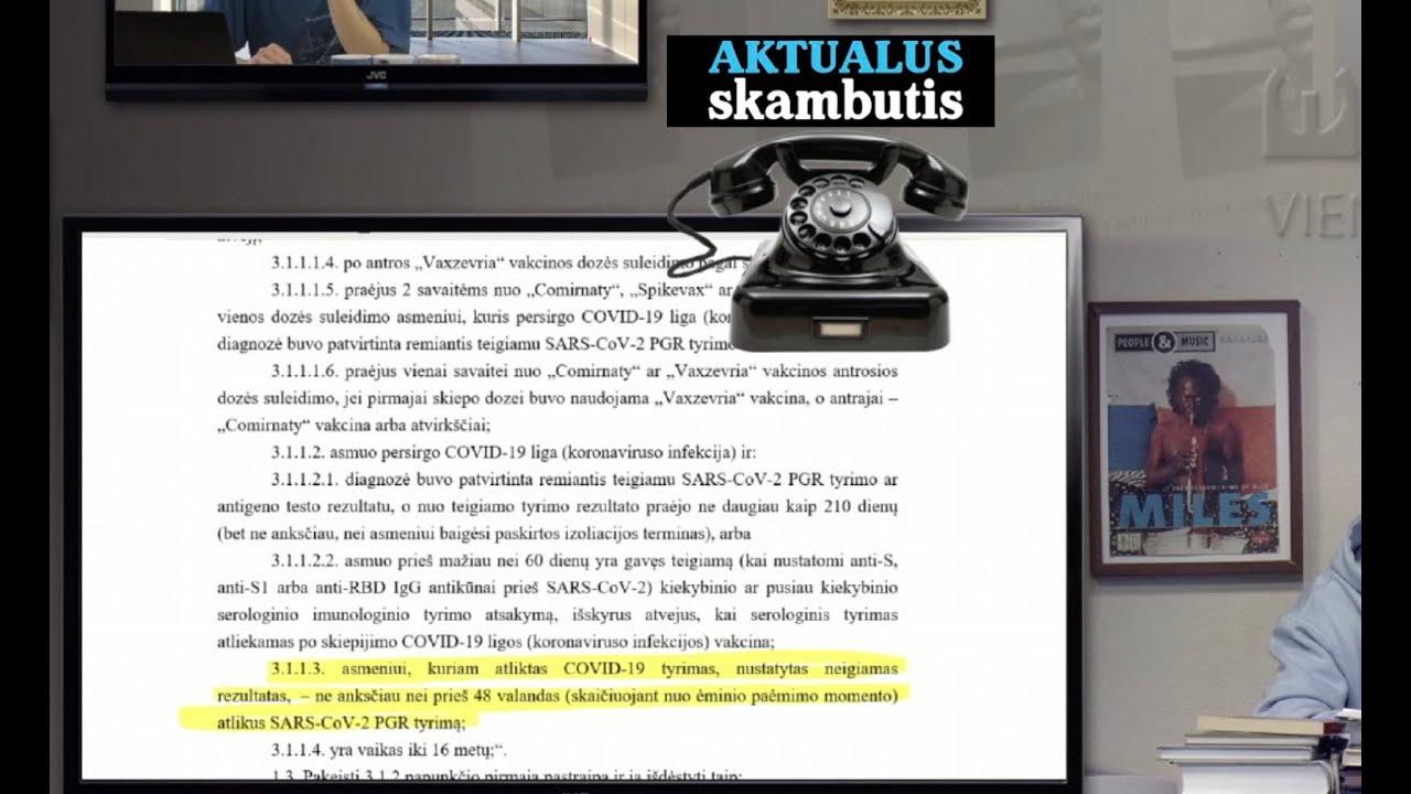 A. Dulkys išmąstė, kaip priversti visus Lietuvos studentus skubiai išsivakcinuoti