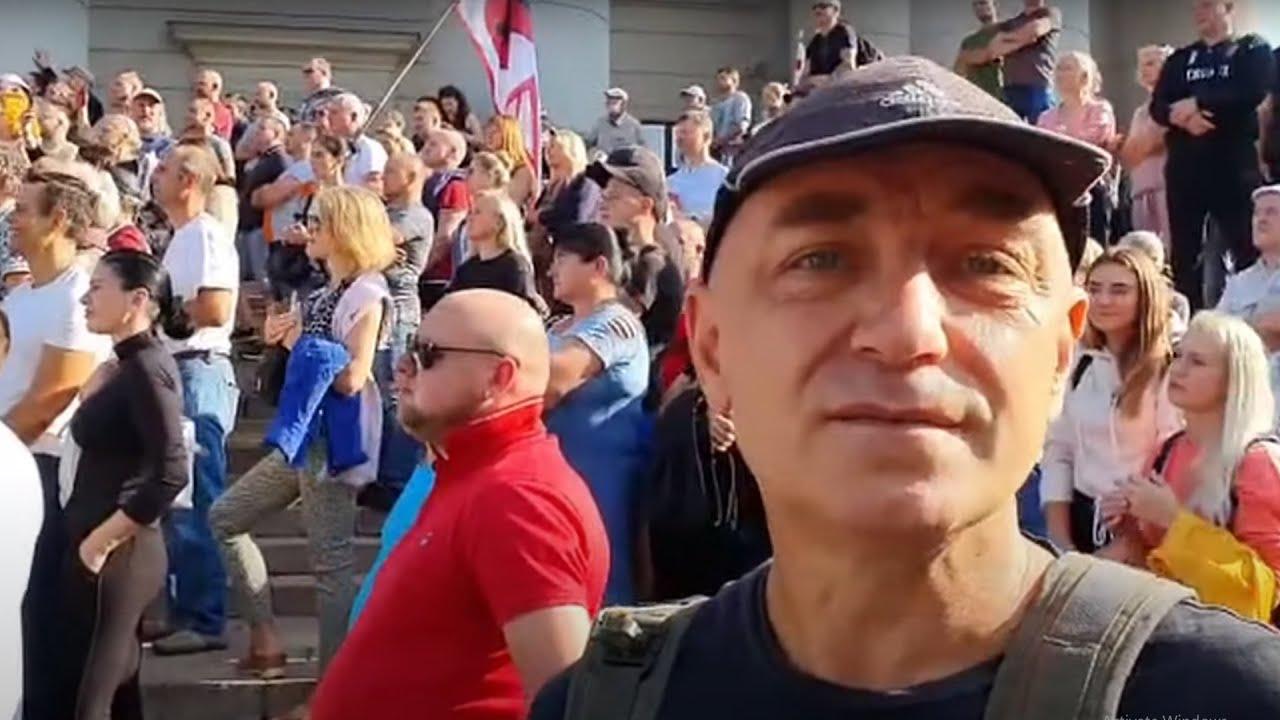 Mitingas Seimą lauk! Pradžia | 2021 08 10 Kazimieras Juraitis